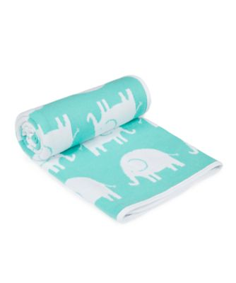 mothercare sleepy safari knitted blanket