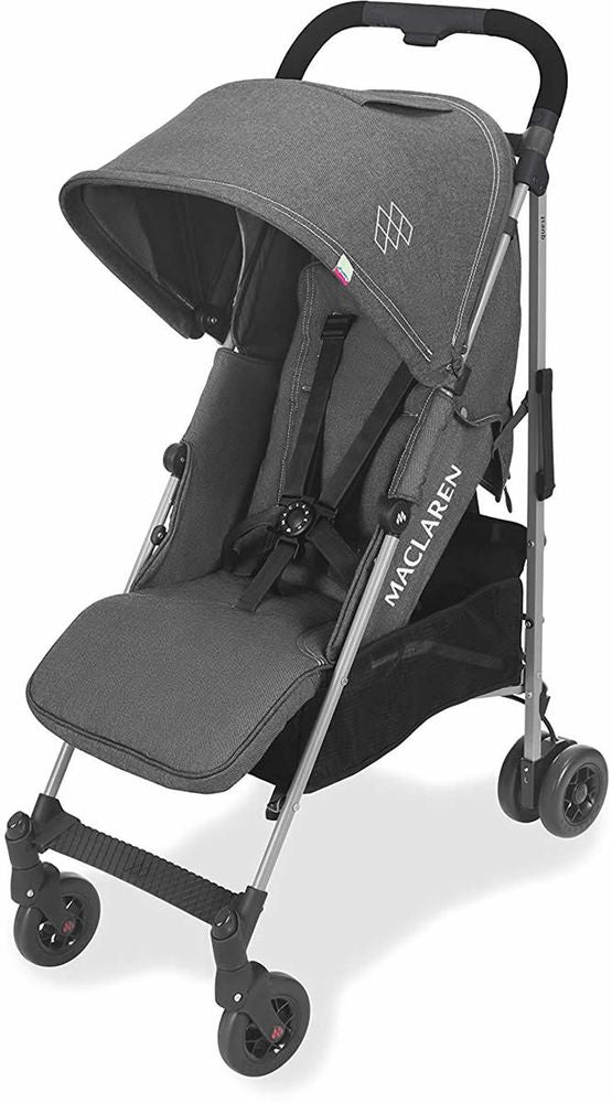 maclaren quest arc stroller denim charcoal