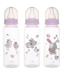 mothercare standard baby bottles - pink