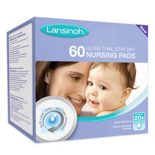 Load image into Gallery viewer, lansinoh disposable nursing pads 60pk