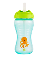 Load image into Gallery viewer, mothercare flexi straw toddler cup - blue
