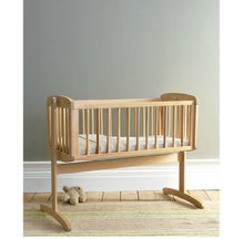 Load image into Gallery viewer, mothercare swinging crib - natural