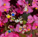 Load image into Gallery viewer, PETAL LE PINK EARRINGS