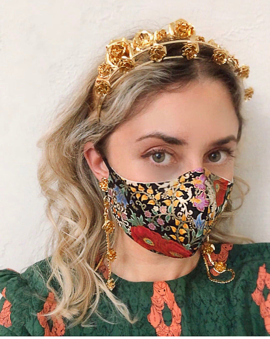 EV COTTON MASK IN BAROQUE