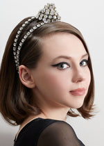 Load image into Gallery viewer, EV CRYSTAL KNOT HEADBAND