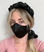 Load image into Gallery viewer, LARGE BLOSSOM SATIN SCRUNCHIE