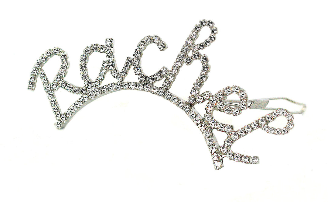 *CUSTOM* SWAROVSKI CURSIVE NAME BARRETTE