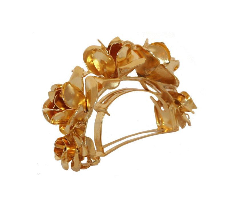 FIELD OF ROSES PONY CUFF