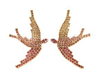 Load image into Gallery viewer, SWAROVSKI PHOENIX EARRINGS IN PINK OMBRE
