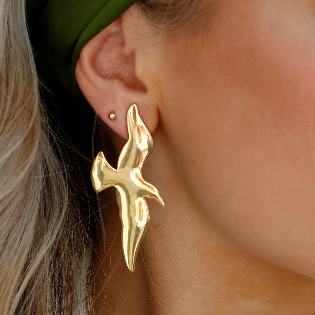 GOLDEN WING EARRINGS