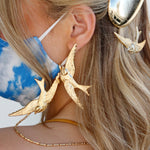 Load image into Gallery viewer, CADILLAC BIRD EARRINGS