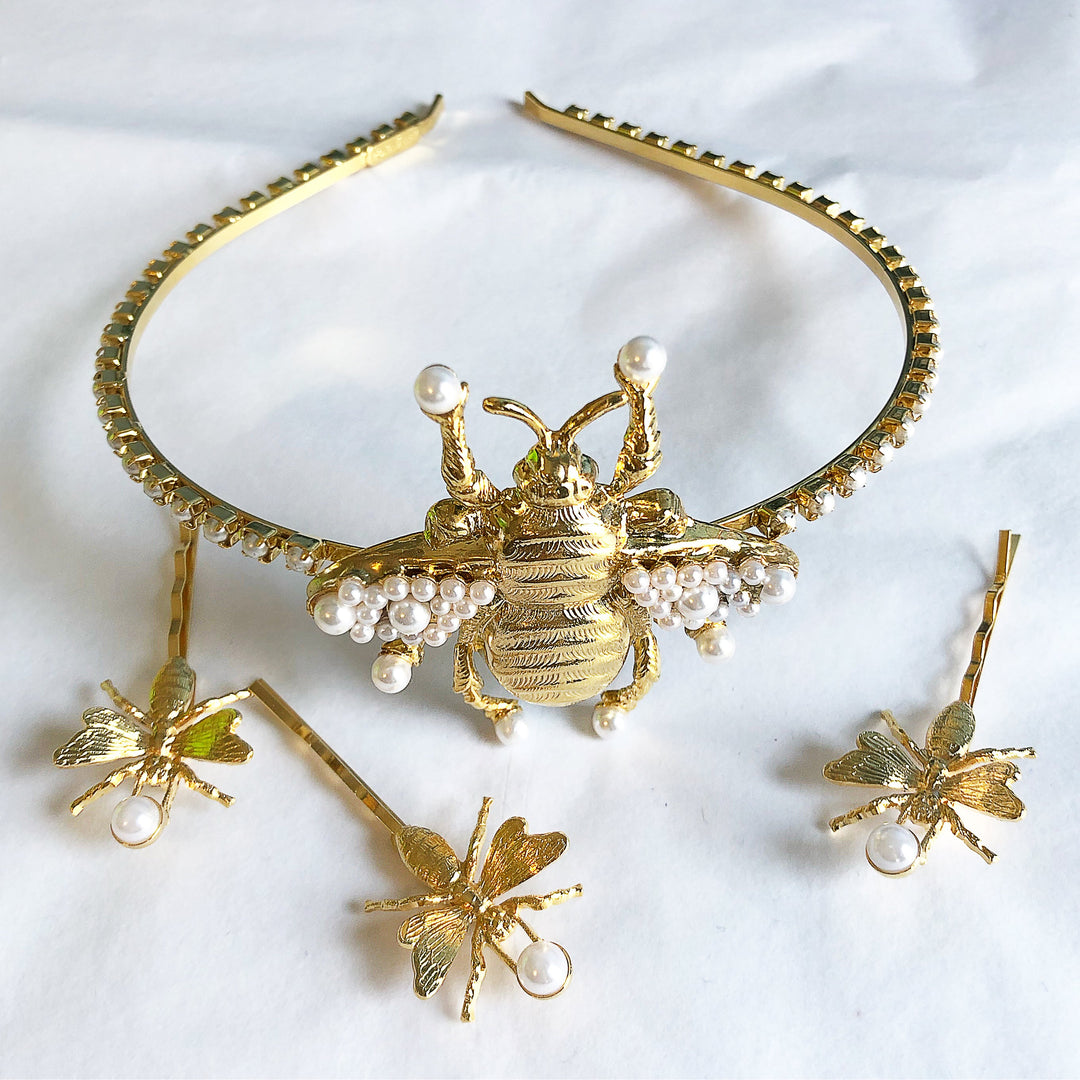 BEE OF PEARL HEADBAND
