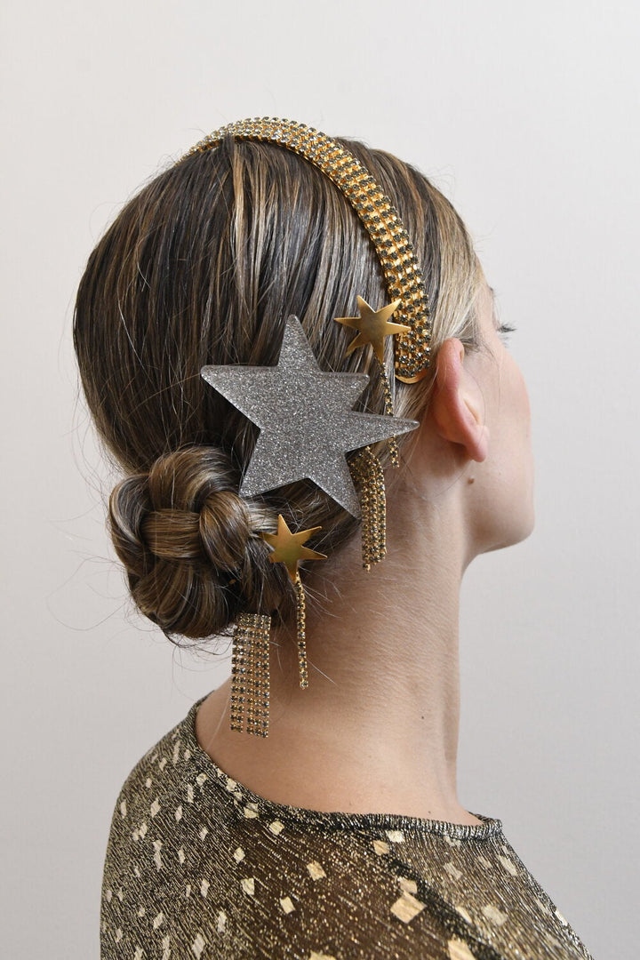 ELECTRIC STAR BARRETTE