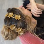 Load image into Gallery viewer, THE SUNFLOWER BARRETTE