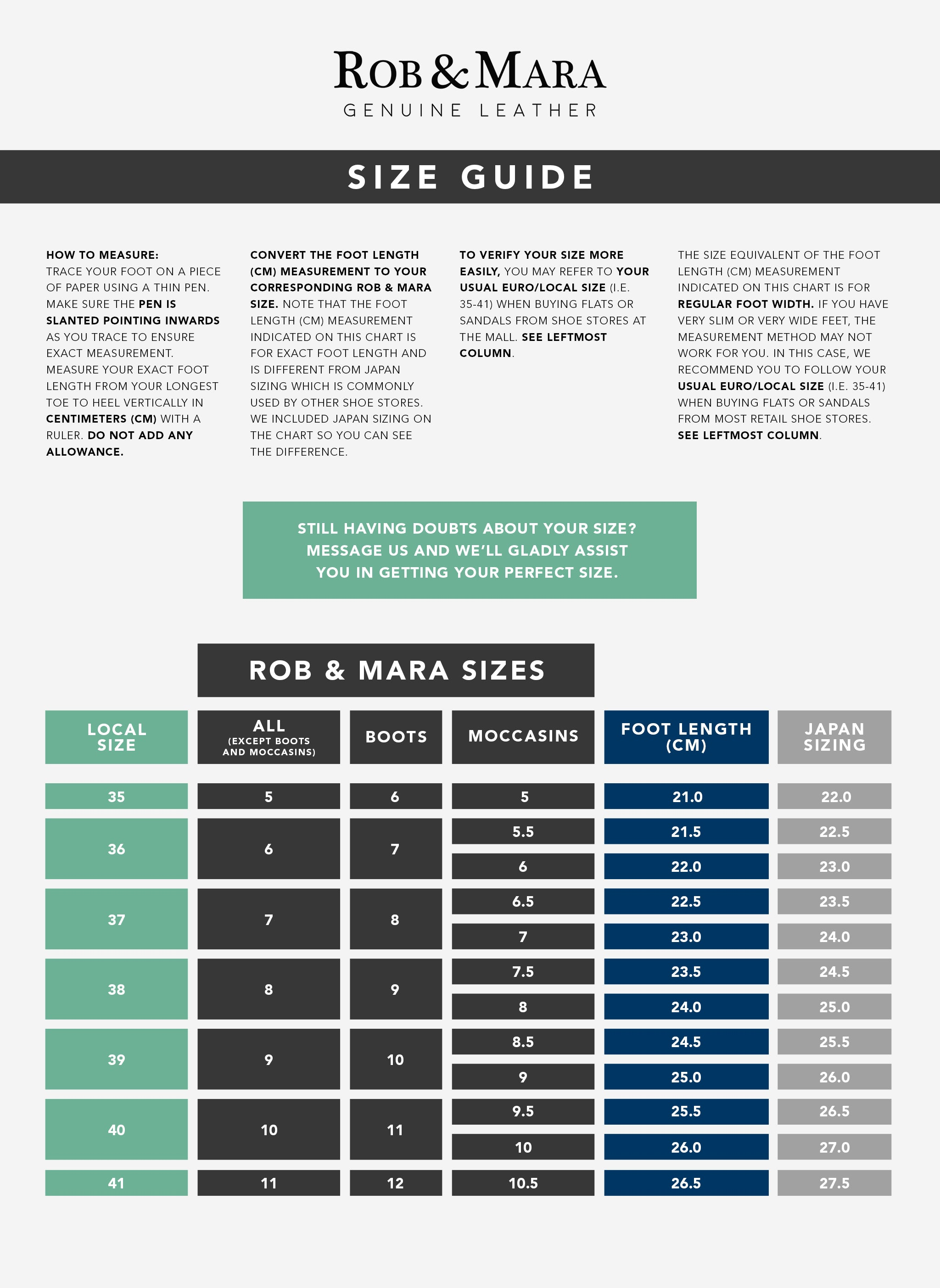 rob-and-mara-size-chart-size-guide