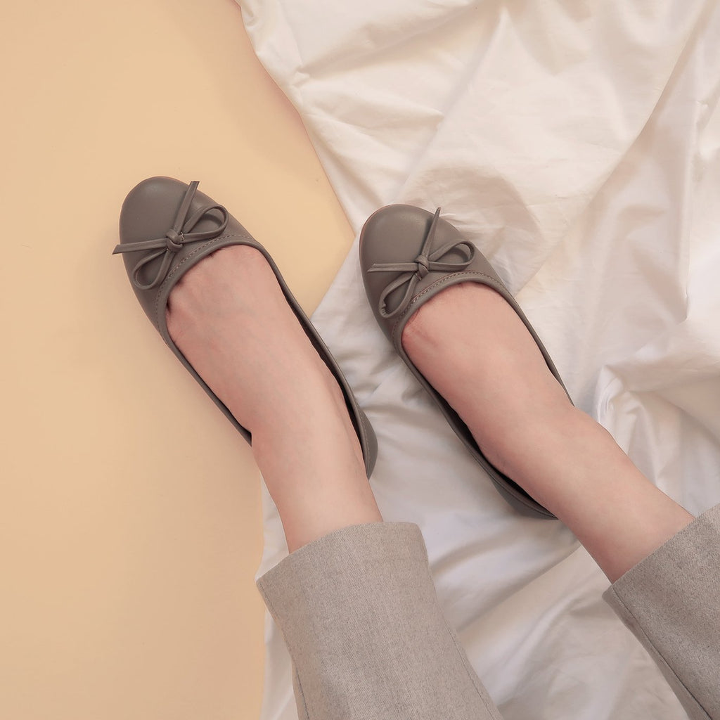 Bella in Ultimate Gray (Limited Edition) - Ballet Flats - Rob and Mara