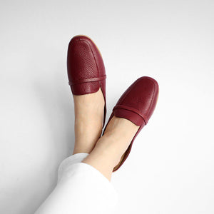 Venice in Maroon - Mules - Rob and Mara