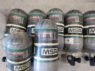 USED: MSA 4500psi cylinders
