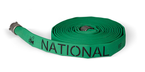 "Attack hose, 3"" x 2.5"" National 8D hose"