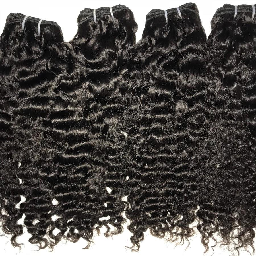 Double drawn Cambodian deep Curl Bundles
