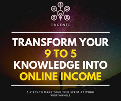 Transform Your 9 To 5 Knowledge Into Online Income Without Spending A Dime