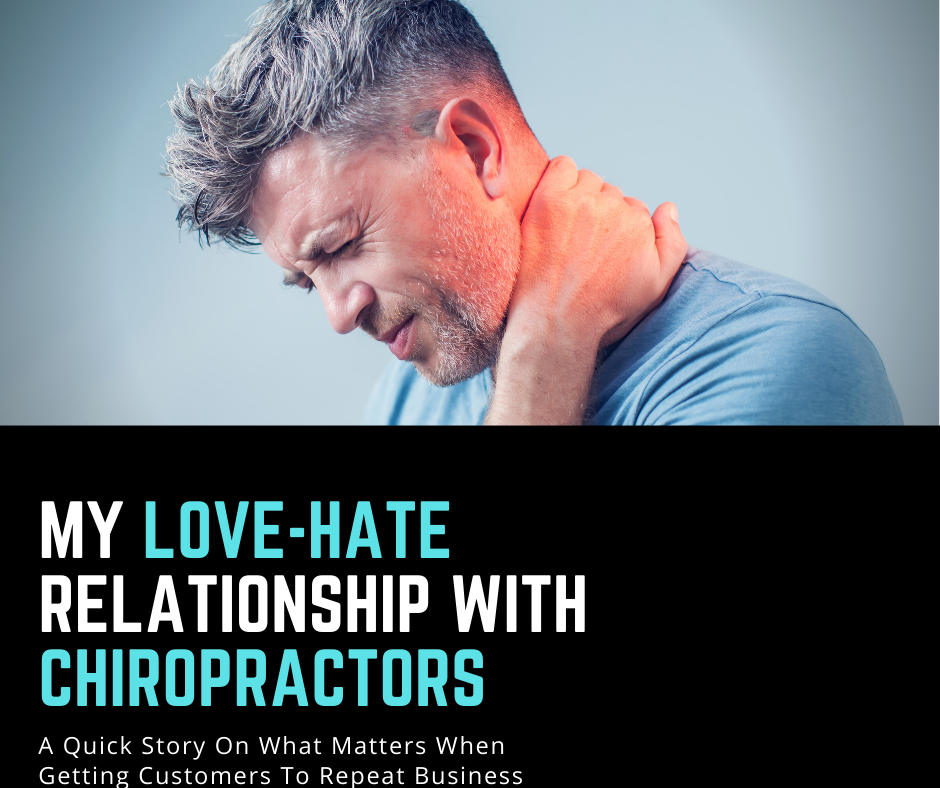 My Love-Hate Relationship With Chiropractors