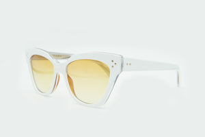 Cutler and Gross 1283 Sun 03 White Layer/ Honey