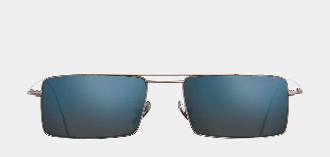 Cutler and Gross 1308 Sun PPL-02 Palladium/Blue Mirror