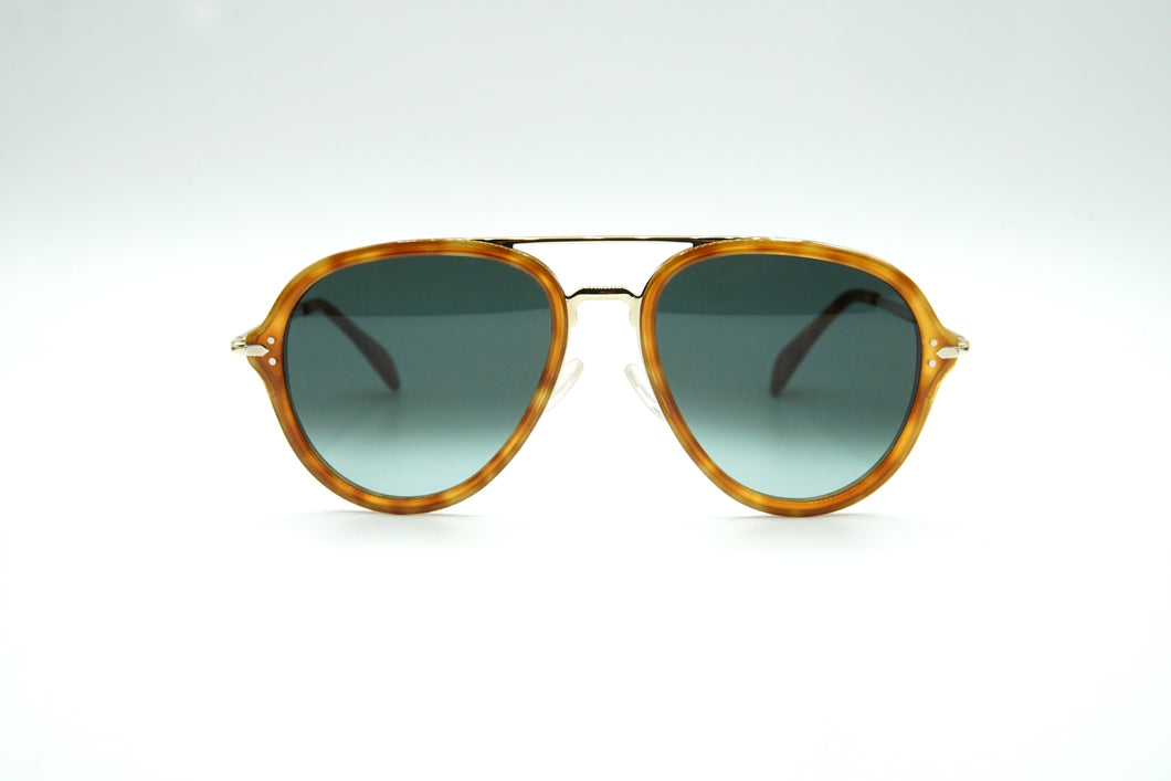 Celine CL 41374 Sun Yellow Tortoise/Gold