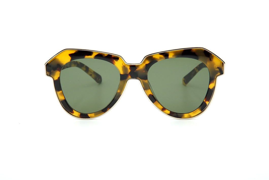 Karen Walker One Astronaut Alternate Fit Sun Crazy Tortoise w/ Gold