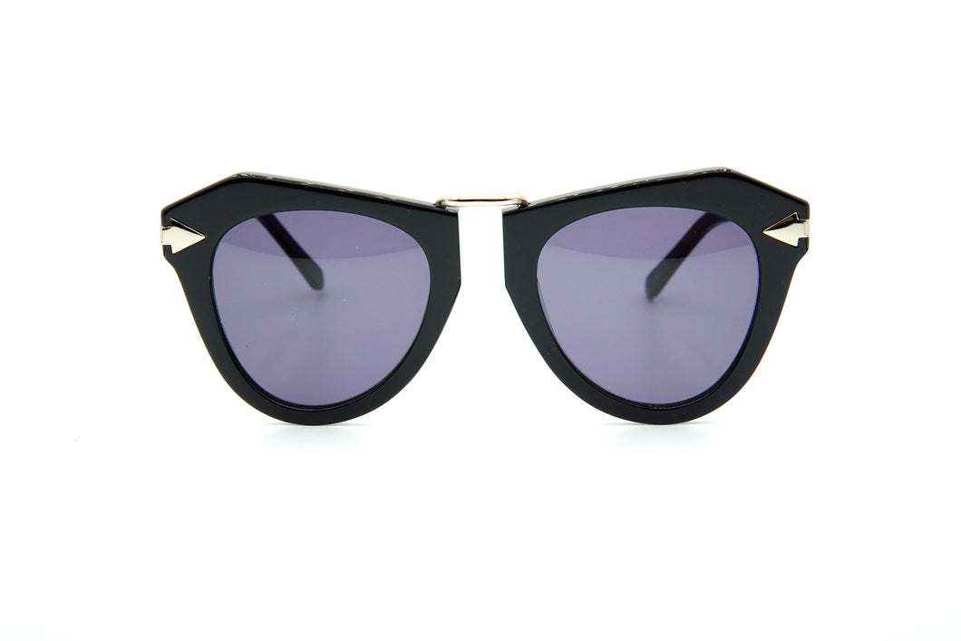 Karen Walker One Orbit Sun Black w/Gold