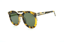 Load image into Gallery viewer, Karen Walker Super Spaceship Alternate Fit Sun Crazy Tortoise w/Gold