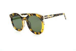 Karen Walker Super Spaceship Alternate Fit Sun Crazy Tortoise w/Gold