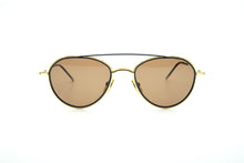 Load image into Gallery viewer, Thom Browne TB 109 Sun Yellow Gold/Matte Navy