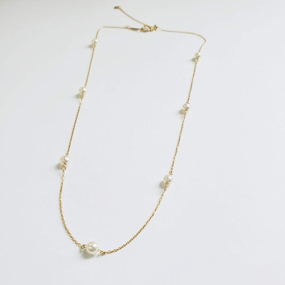 【Semi Order】K18 Neige Necklace ネージュ 42㎝