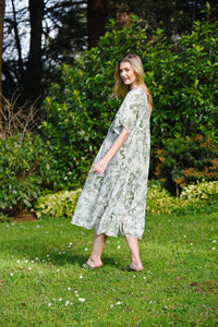 MA  DAINTY PAPERBOY DRESS - NATURE'S BEST
