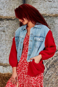 TRELISE COOPER - SLEEVE IT BE JACKET - RED