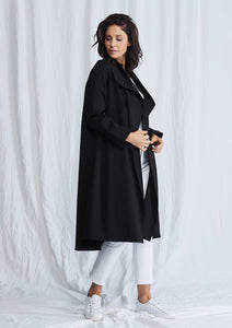 Mela Purdie Black trench