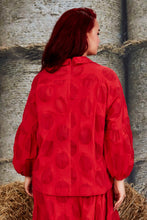 Load image into Gallery viewer, DOTTY SHOP SHIRT RED