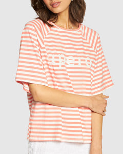 APERO BRILLANTE OVERSIZED TEE