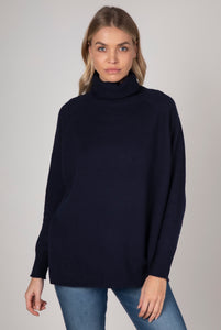 ZAKET AND PLOVER RAGLAN SLEEVE ROLL NECK