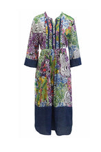 Load image into Gallery viewer, M.E.L. AFRICAN JUNGLE DRESS