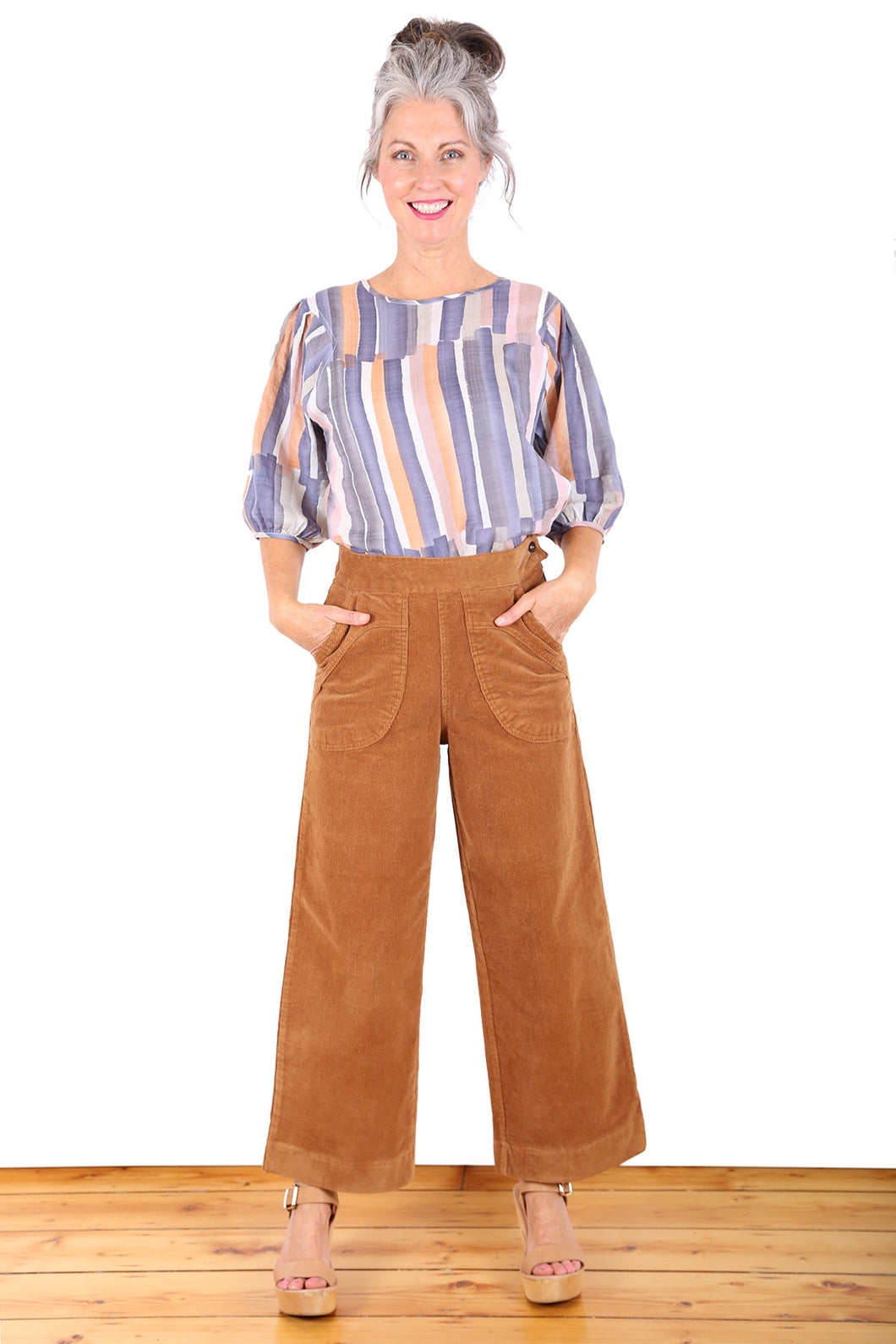 PEGGY CORD PANTS