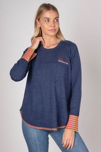 ZAKET AND PLOVER POCKET PULLOVER
