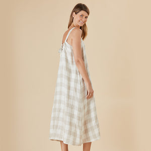 HAMMOCK & VINE CHECK THIS OUT LINEN DRESS