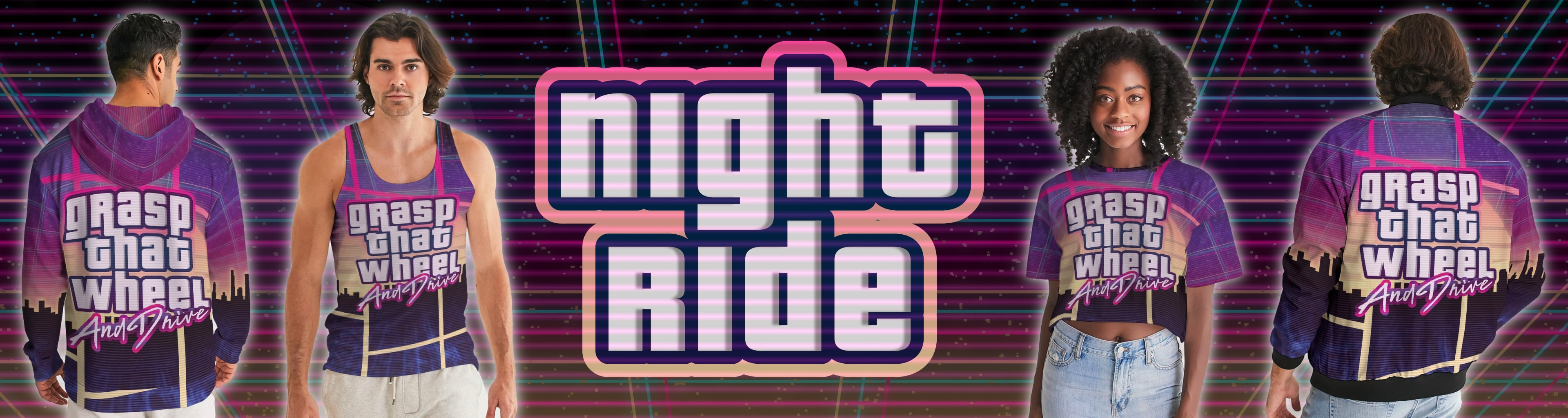 Night Ride Collection Banner