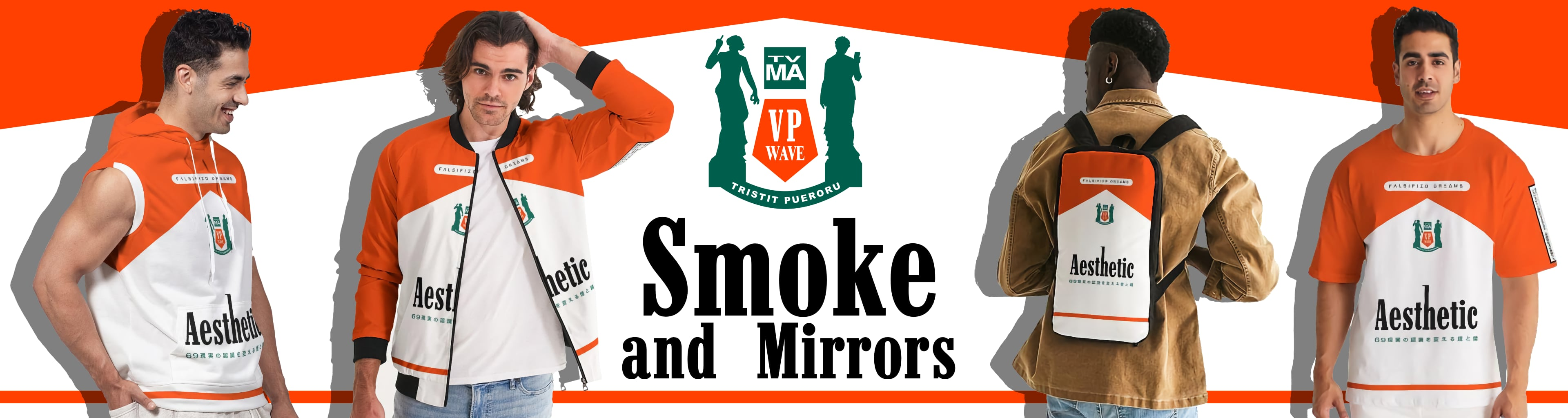 Smoke and Mirrors Collection Banner