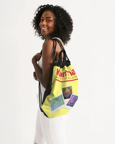 Fate Canvas Drawstring Bag - V. H. Hess