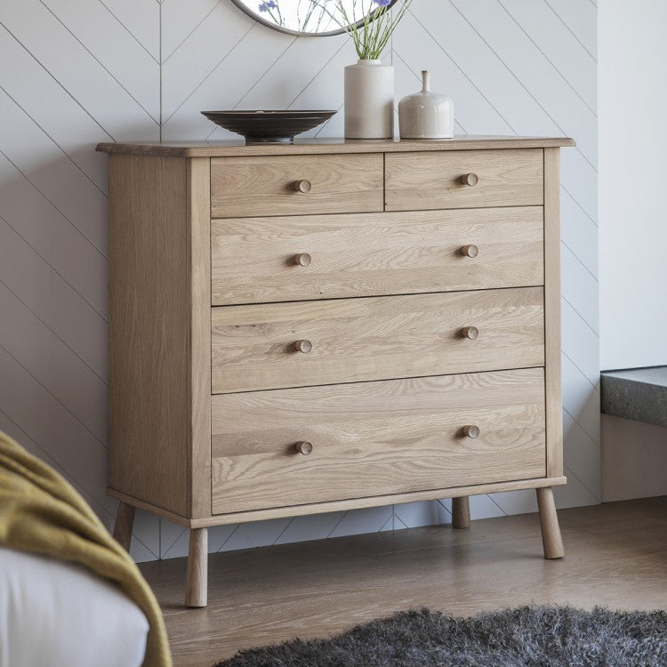 Drawers Oak Nordic Style