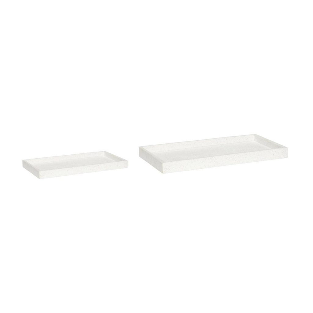 Terazzo Tray White (2 sizes)